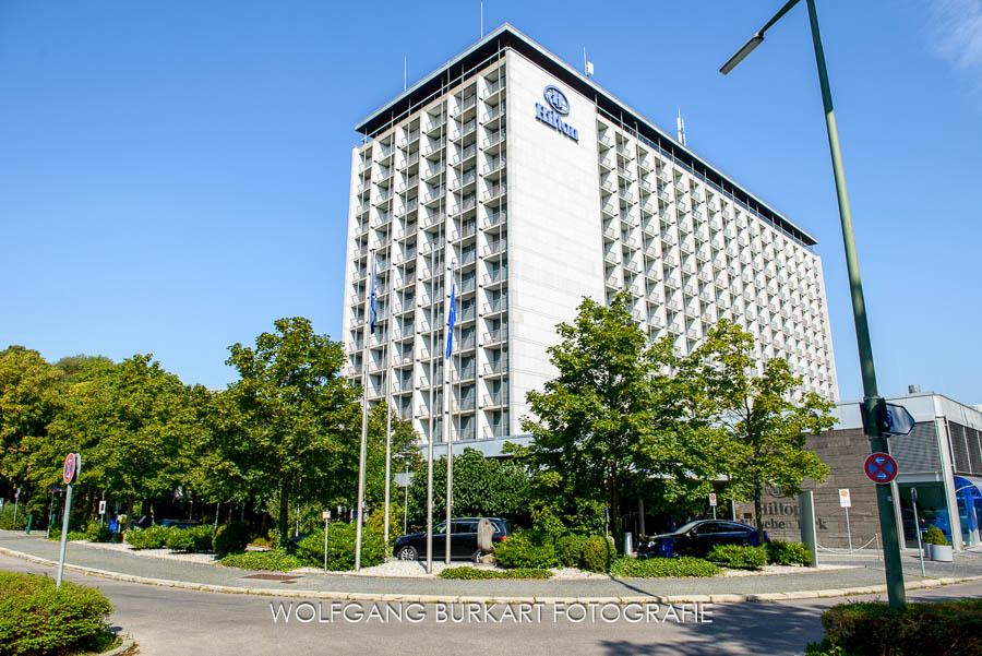 Hochzeitsfotografie München, Hilton Hotel