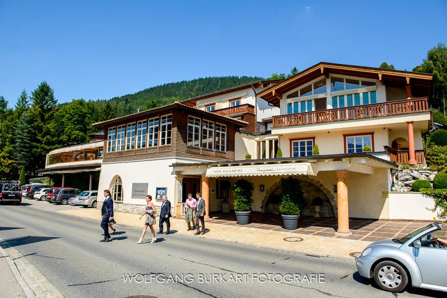 Hochzeitsfoto-Reportage Tegernsee Villa am See Hotel