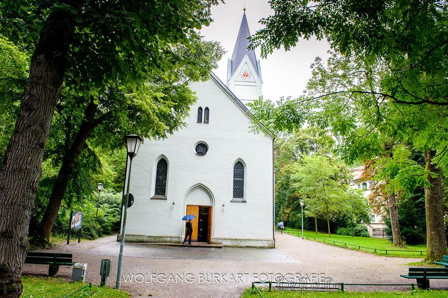 Hochzeit Fotograf München Pasing, Pfarrkirche Mariä Geburt im Stadtpark