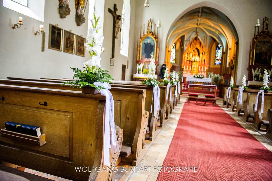 Hochzeit Fotograf München Pasing, Pfarrkirche Mariä Geburt