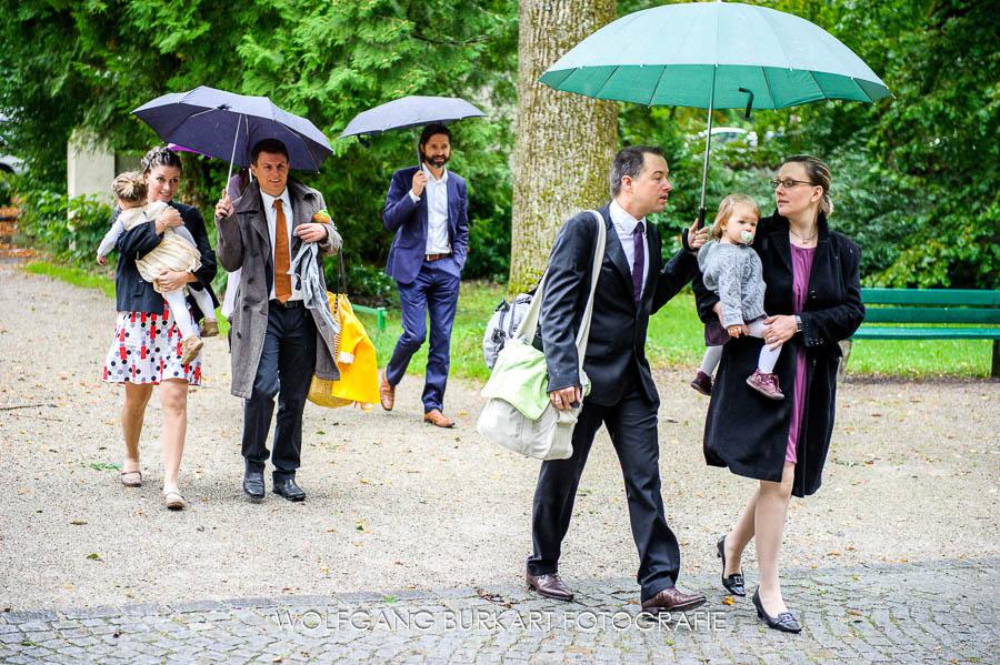 Hochzeit Fotograf München Pasing, Ankunft der Hochzeitsgäste