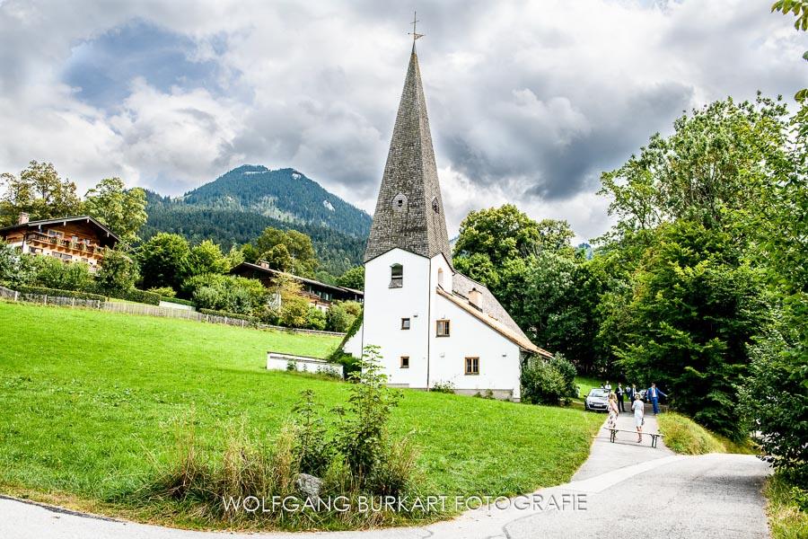 Hochzeits-Fotograf München, Martin Luther Kirche Fischbachau