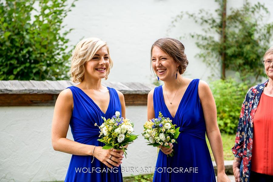 Bayern Hochzeitsfotograf, Brautjungfern