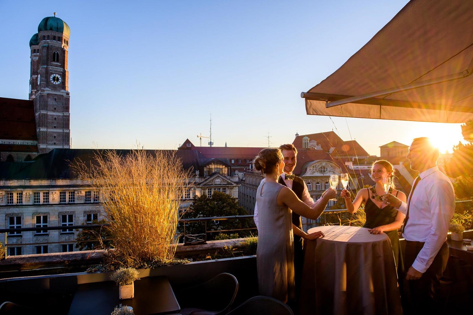 Hochzeitsfotos München, Foto-Reportage im Bayerischen Hof