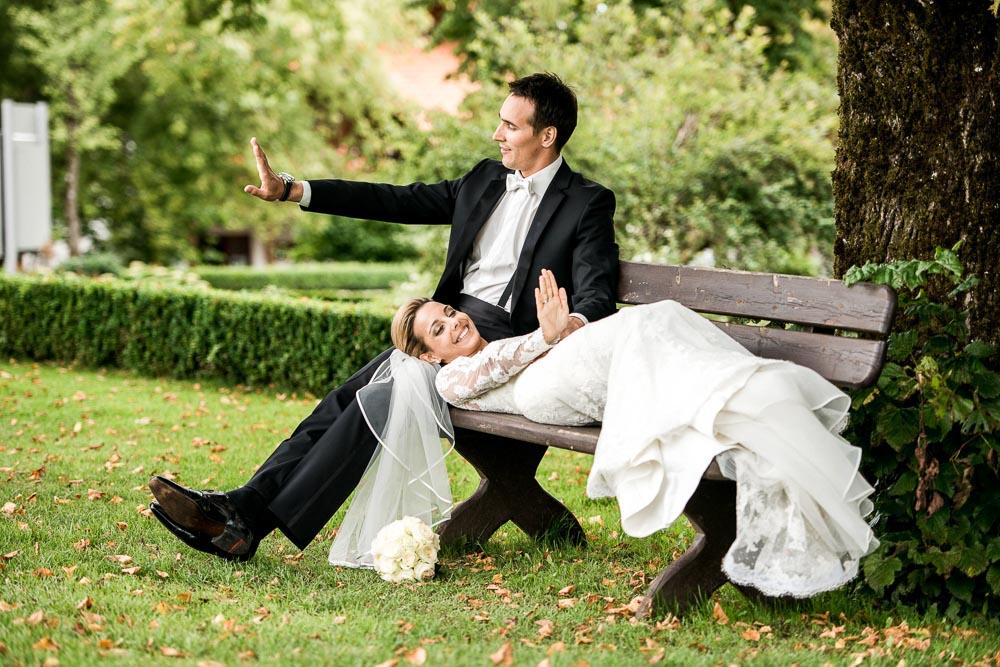 Hochzeits-Fotografie bei Tegernsee