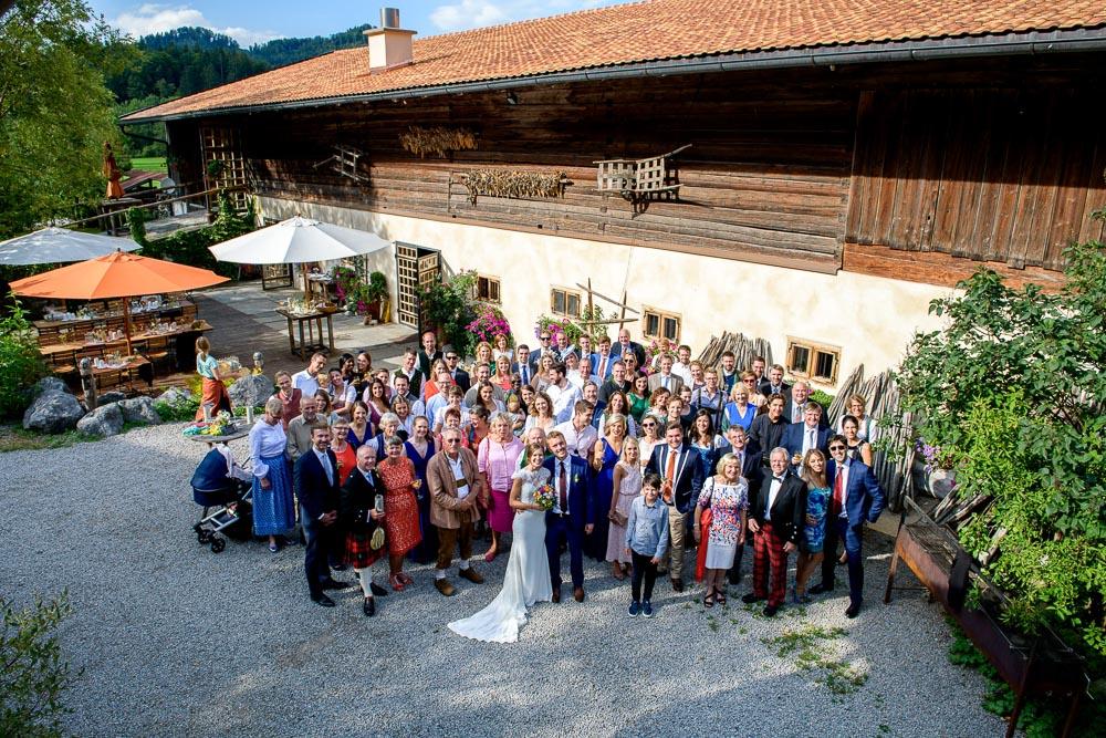 Hochzeits-Fotograf aus München bei einer Hochzeit in Bayrischzell