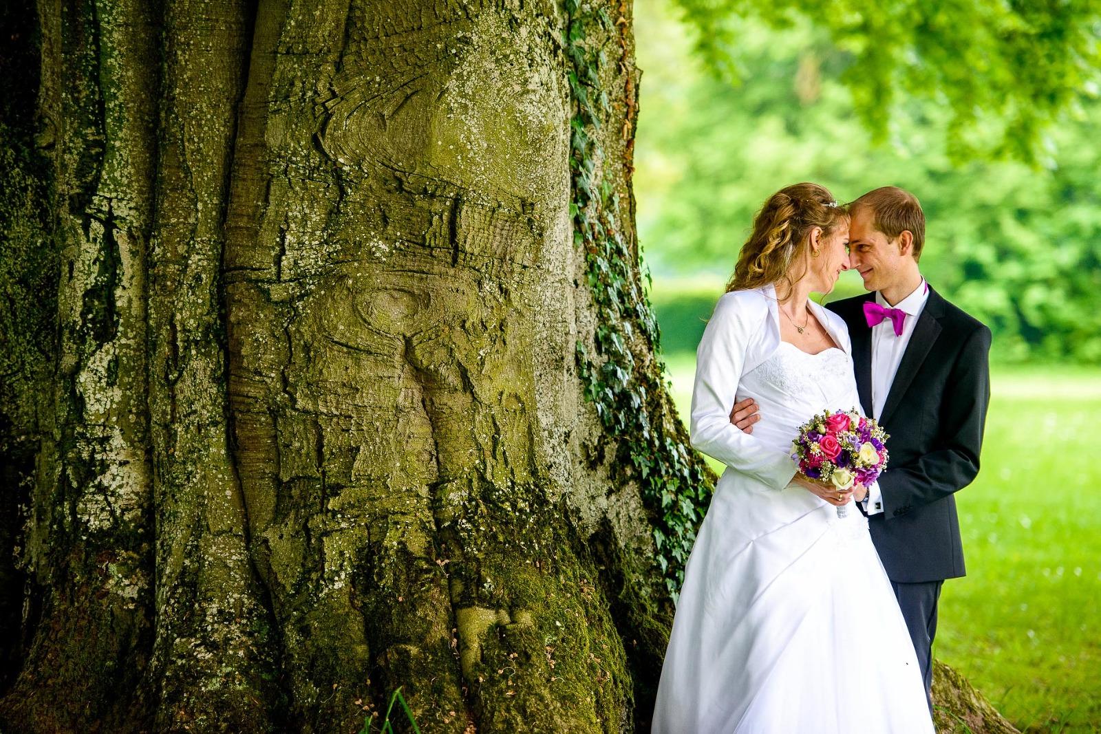 Hochzeits-Fotografie Erding, Hochzeitsfoto in Schloss Aufhausen
