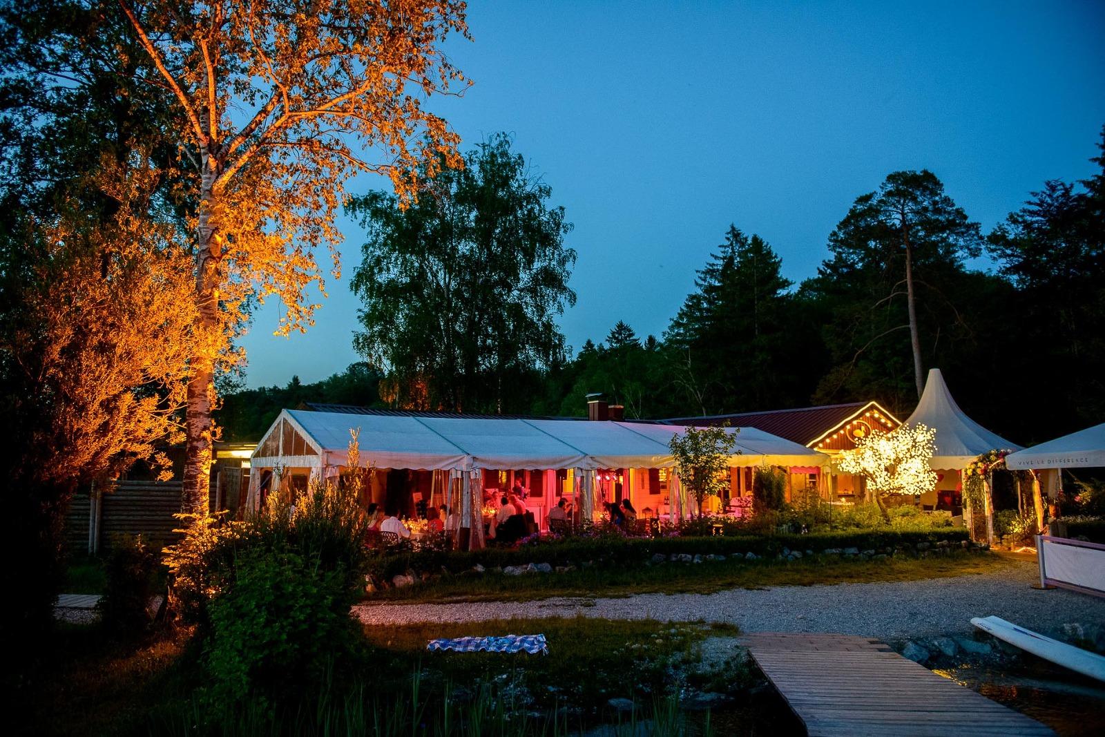 Hochzeits-Fotograf Bayern, Hochzeits-Location Kleines Seehaus am Starnberger See